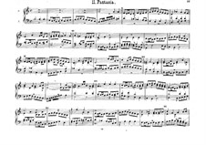 Six Fantasias: Six Fantasias by Anthoni van Noordt