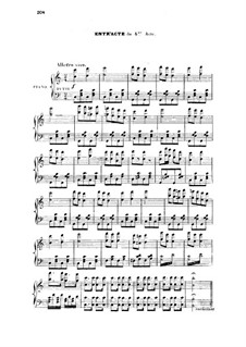 La vie parisienne (Parisian Life): ato IV para voz e piano by Jacques Offenbach