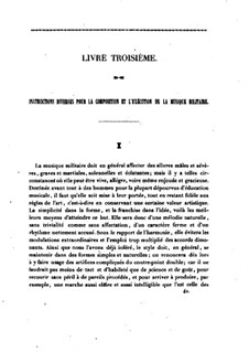 Manuel Général de Musique Militaire à l'Usage des Armees Françaises: Livre III by Jean-Georges Kastner