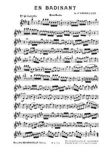 En Badinant: parte Oboe by Alfredo D'Ambrosio