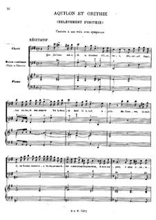 Aquilon et Orithie, RCT 23: Aquilon et Orithie by Jean-Philippe Rameau