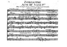 Zoroastre, RCT 62: Ato III by Jean-Philippe Rameau