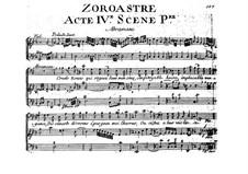 Zoroastre, RCT 62: Ato VI by Jean-Philippe Rameau