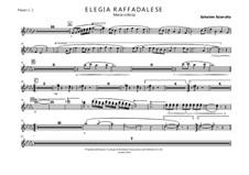 Elegia Raffadalese: Elegia Raffadalese by Salvatore Sciarratta
