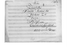 Quartet No.2 in F Major for Flute and Strings, WK 225: Quartet No.2 in F Major for Flute and Strings by Carl Friedrich Abel