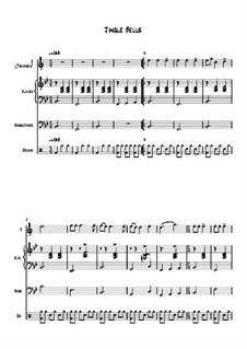 Jingle Bells: For quartet instruments by James Lord Pierpont