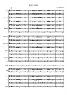 Jingle Bells: para orquestra sinfonica by James Lord Pierpont