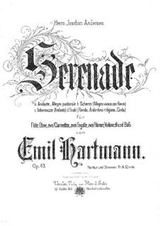 Serenade in B Flat Major, Op.43: Serenade in B Flat Major by Emil Hartmann