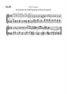 Es kommt ein Schiff geladen (Choralvorspiel): Es kommt ein Schiff geladen (Choralvorspiel) by Roman Jungegger