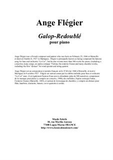 Galop-Redoublé for piano: Galop-Redoublé for piano by Ange Flégier