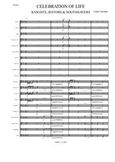 Celebration of Life – Wind Ensemble: Celebration of Life – Wind Ensemble by Gary Mosse