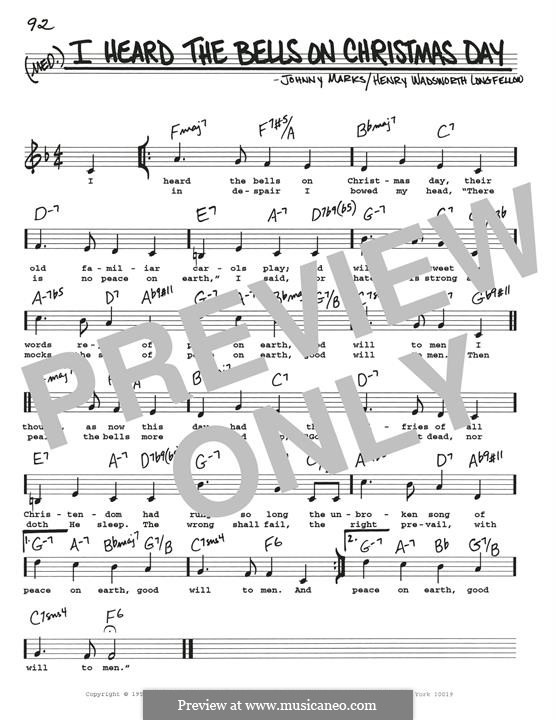 I Heard the Bells on Christmas Day: Para Guitarra by Johnny Marks