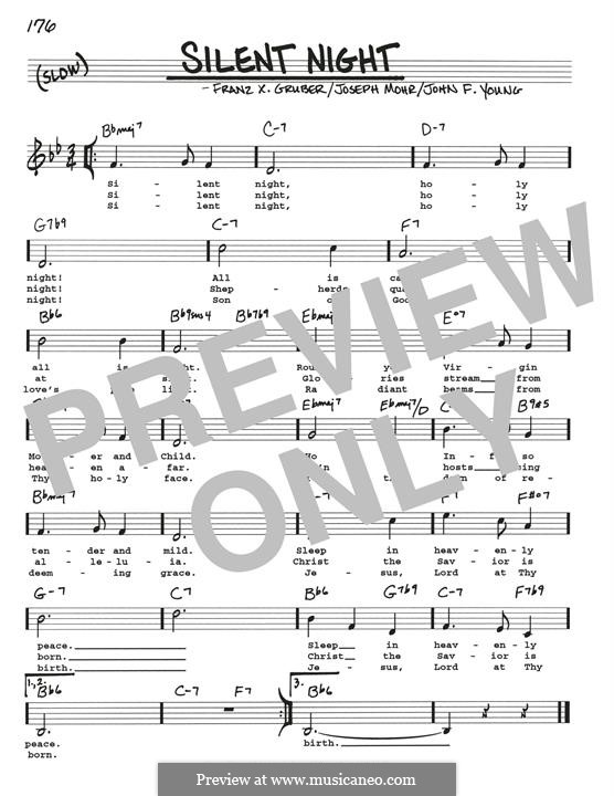 Silent Night, for Solo Instrument: Para Guitarra by Franz Xaver Gruber