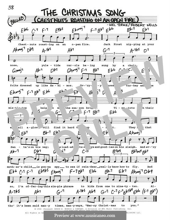 The Christmas Song (Chestnuts Roasting on an Open Fire): Para Guitarra by Mel Tormé, Robert Wells