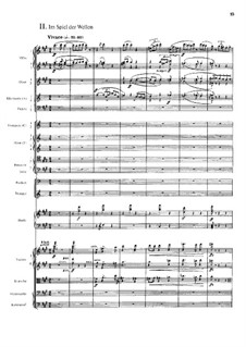 Four Tone Poems after Arnold Böcklin for Orchestra, Op.128: In the Play of the Waves by Max Reger