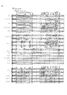 Four Tone Poems after Arnold Böcklin for Orchestra, Op.128: Bacchanal by Max Reger
