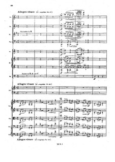 Sinfonietta in A Major for Orchestra, Op.90: movimento II by Max Reger