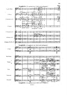 Sinfonietta in A Major for Orchestra, Op.90: movimento III by Max Reger