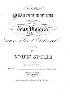 String Quintet No.3 in B Minor, Op.69: String Quintet No.3 in B Minor by Louis Spohr