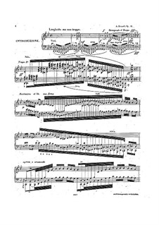 Concert Variations on 'Quand je quittai la Normandie' from 'Robert le diable' by Meyerbeer, Op.11: Para Piano by Adolf von Henselt