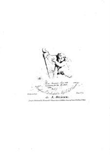 Three Favorite Arias with Variations: Three Favorite Arias with Variations by Sophia Dussek