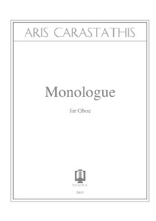 Monologue: Monologue by Aris Carastathis
