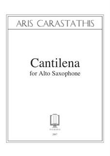 Cantilena: Cantilena by Aris Carastathis