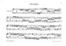 Organ and Keyboard Works: book III by Girolamo Frescobaldi