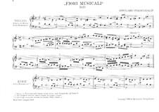 Organ and Keyboard Works: livro V by Girolamo Frescobaldi