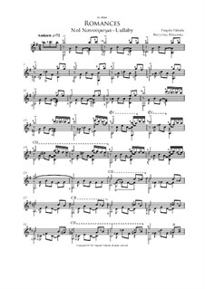Romance No.1 - Νανούρισμα - Lullaby: Romance No.1 - Νανούρισμα - Lullaby by Vangelis Vlahakis