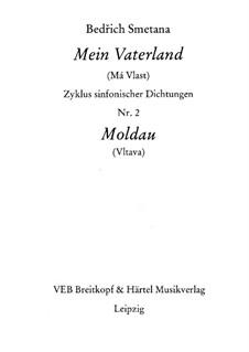 Vltava, T.111: partitura completa by Bedřich Smetana