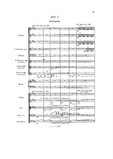 Henry VIII: Ato II by Camille Saint-Saëns