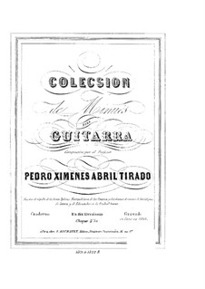 Minuets: Para Guitarra by Pedro Abril Tirado