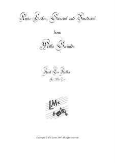 Missa Secunda – Brass Quartet: Missa Secunda – Brass Quartet by Hans Leo Hassler