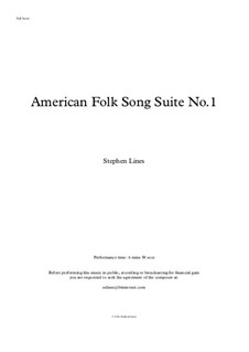 American Folk Song Suite No.1: American Folk Song Suite No.1 by folklore