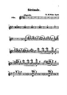 Serenade in B Flat Major, Op.10: Partes by Charles-Marie Widor