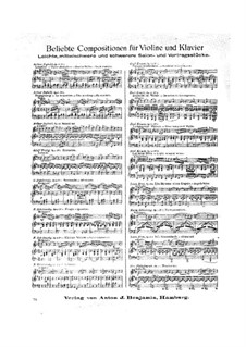 Four Romances without Words, Op.8: No.3 Barcarolle by Henri Vieuxtemps