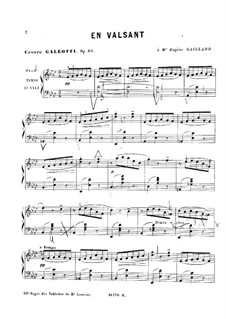 En Valsant, Op.86: En Valsant by Cesare Galeotti