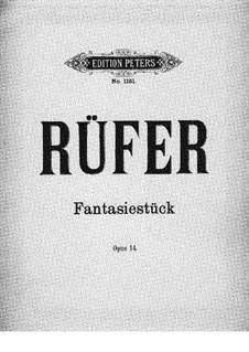 Fantastic Piece, Op.14: Peça Fantastica by Philipp Rüfer