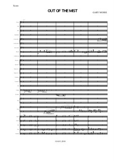 Out of the Mist for Orchestra: Out of the Mist for Orchestra by Gary Mosse