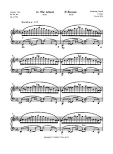 Этюд 'В волнах', Op.10 No.2: Этюд 'В волнах' by Vladimir Titov