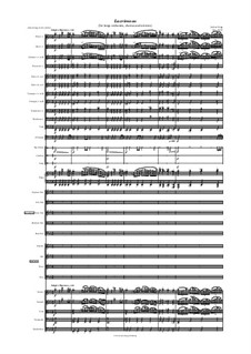 Lacrimoso (for large orchestra, chorus and soloists): Lacrimoso (for large orchestra, chorus and soloists) by Jordan Grigg