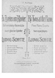 By Twos at the Piano: By Twos at the Piano by Ludvig Schytte