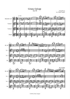 Gitana - Galopp, Op.108: Gitana - Galopp by Johann Strauss Sr.