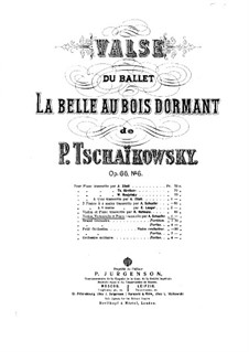 Waltz: para trio de pianos by Pyotr Tchaikovsky