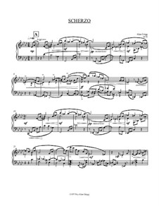Scherzo and Rondo for Piano: Scherzo and Rondo for Piano by Alan Grigg
