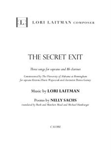 The Secret Exit: The Secret Exit by Lori Laitman
