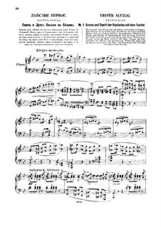 The Slippers, TH 8: ato I by Pyotr Tchaikovsky