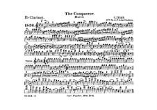 Graf Zeppelin (The Conqueror): clarinete em Es parte by Carl Teike