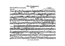 Graf Zeppelin (The Conqueror): Clarinets II, III in B part by Carl Teike